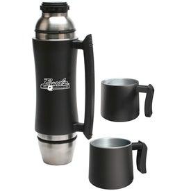 Promotional Vacuum Flask/Mug Set