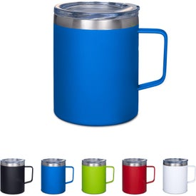Vacuum Insulated Coffee Mugs with Handle (12 Oz.)