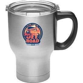 Vacuum Travel Mug with Handle (20 Oz.)