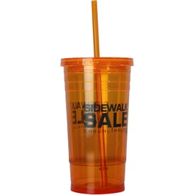 Varsity XL Double Wall Acrylic Tumbler Giveaways