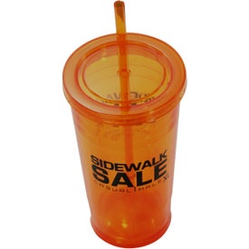 Varsity XL Double Wall Acrylic Tumbler for Promotion