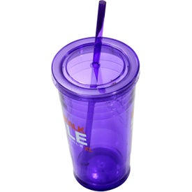 Varsity XL Double Wall Acrylic Tumbler for Customization