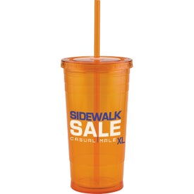 Custom Varsity XL Double Wall Acrylic Tumbler