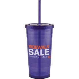Varsity XL Double Wall Acrylic Tumbler Branded with Your Logo
