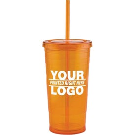 Varsity XL Double Wall Acrylic Tumbler for Your Organization