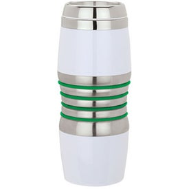 Advertising Virone Acrylic and Steel Tumbler