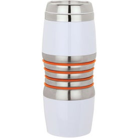 Virone Acrylic and Steel Tumbler Imprinted with Your Logo
