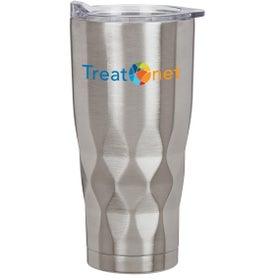Vortex Stainless Steel Tumbler (22 Oz., Full Color)