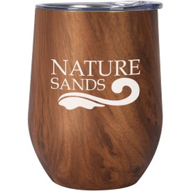 Woodgrain Alexander Stemless Wine Cup (12 Oz.)