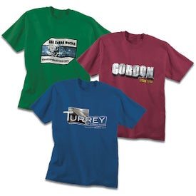 100% Cotton T-Shirt (Men's, Colors)
