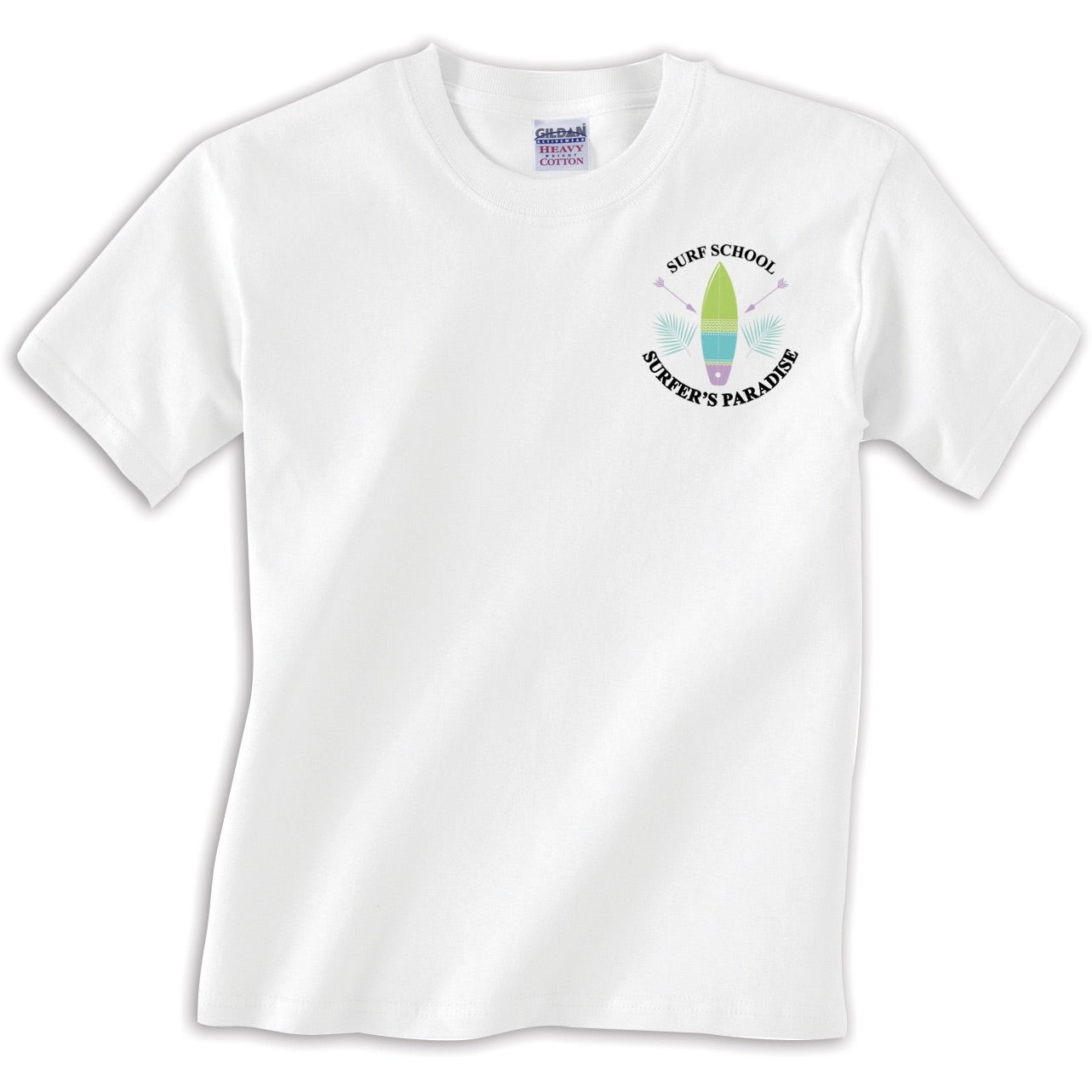 Promotional White 100 Cotton T Shirts With Custom Logo For 831 Ea
