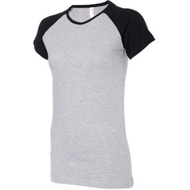 Colored Anvil Semi-Sheer Baseball T-Shirt for your School