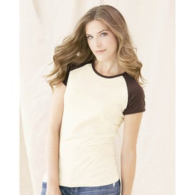 Company Colored Anvil Semi-Sheer Baseball T-Shirt