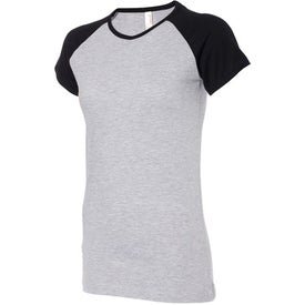 Colored Anvil Semi-Sheer Baseball T-Shirt