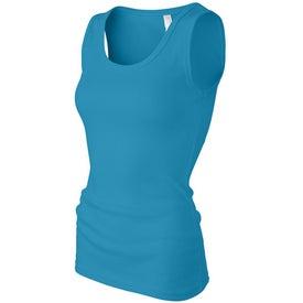Dark Anvil Ladies' 2x1 Rib 100% Cotton Knit Tank Top