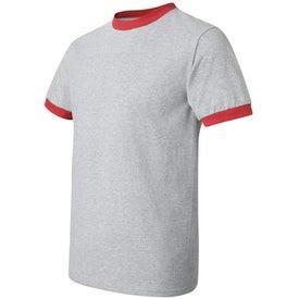 Anvil Ringer T-Shirt for Advertising