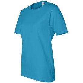 Dark Ladies Scoop Neck Classic T-Shirt