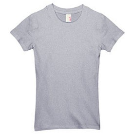 Dark Anvil Ladies' Cotton/Spandex Crewneck