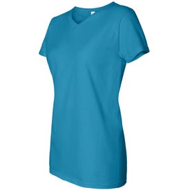 Dark Anvil Ladies' V-Neck Classic T-Shirt for Marketing