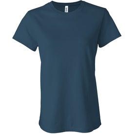 Imprinted Dark Bella Ladies' Jersey T-shirt
