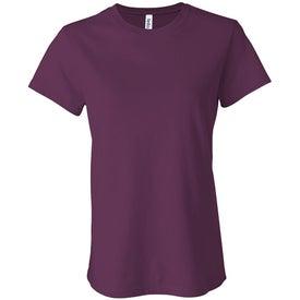 Advertising Dark Bella Ladies' Jersey T-shirt