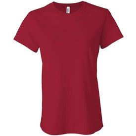 Dark Bella Ladies' Jersey T-shirt with Your Logo