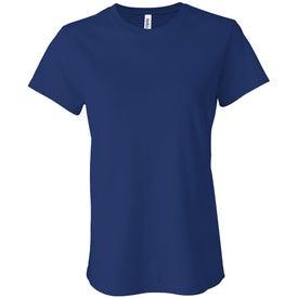 Branded Dark Bella Ladies' Jersey T-shirt