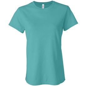 Custom Dark Bella Ladies' Jersey T-shirt