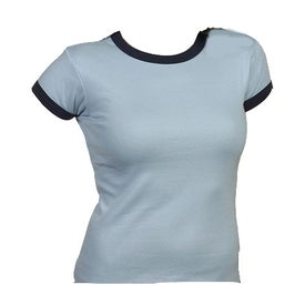 Bella Ladies' Rib Short Sleeve Ringer T-shirt for Your Organization