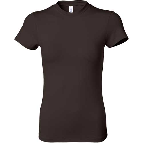 Dark ladies 39 short sleeve cotton spandex t shirt custom for Cotton and elastane t shirts