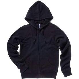Bella Ladies' Raglan Full-Zip Hooded Sweatshirt for Marketing