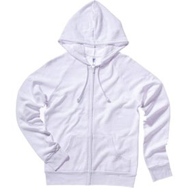 Bella Ladies' Raglan Full-Zip Hooded Sweatshirt for Advertising