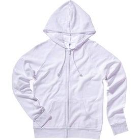 Bella Ladies' Raglan Full-Zip Hooded Sweatshirt for Advertising