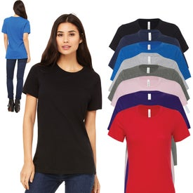 Bella+Canvas Ladies Relaxed Fit Jersey T-Shirt (Colors)
