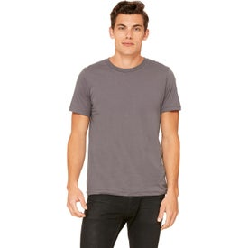 Bella+Canvas Poly-Cotton Short-Sleeve T-Shirts (Men''s, Colors)