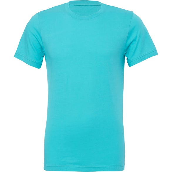 Teal Bella+Canvas Jersey Short Sleeve T-Shirt