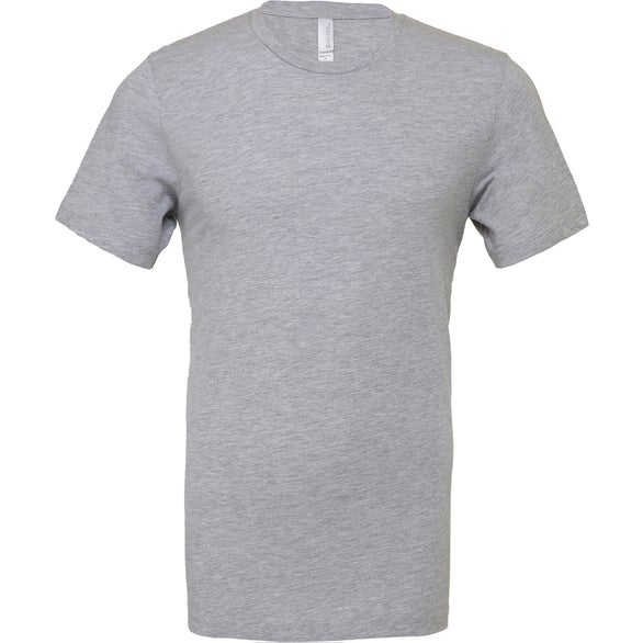 Gray Bella+Canvas Jersey Short Sleeve T-Shirt