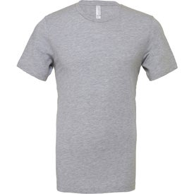 Bella+Canvas Jersey Short Sleeve T-Shirt (Men's, Heather Dark Gray and Gray)