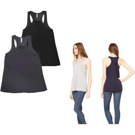 Bella+Canvas Flowy Racerback Tank Top (Women's, Colors)
