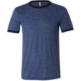 Advertising Canvas Brand Mens Short Sleeve Ringer T-Shirt
