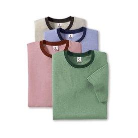 Canvas Brand Mens Short Sleeve Ringer T-Shirt