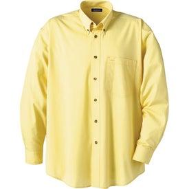 Branded Capulin Long Sleeve Dress Shirt by TRIMARK