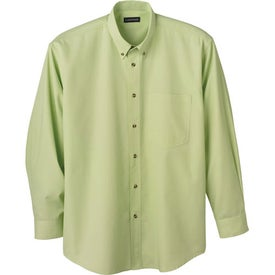 Logo Capulin Long Sleeve Dress Shirt by TRIMARK