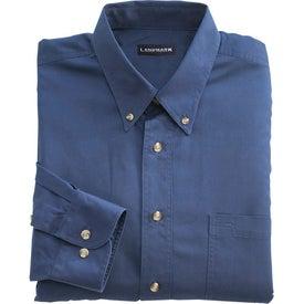 Advertising Capulin Long Sleeve Dress Shirt by TRIMARK