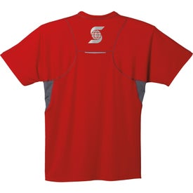 Diaz Short Sleeve Tech Tee by TRIMARK for Marketing