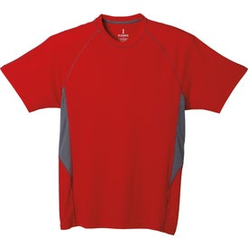 Diaz Short Sleeve Tech Tee by TRIMARK Imprinted with Your Logo