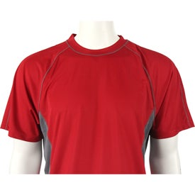 Diaz Short Sleeve Tech Tee by TRIMARK Giveaways