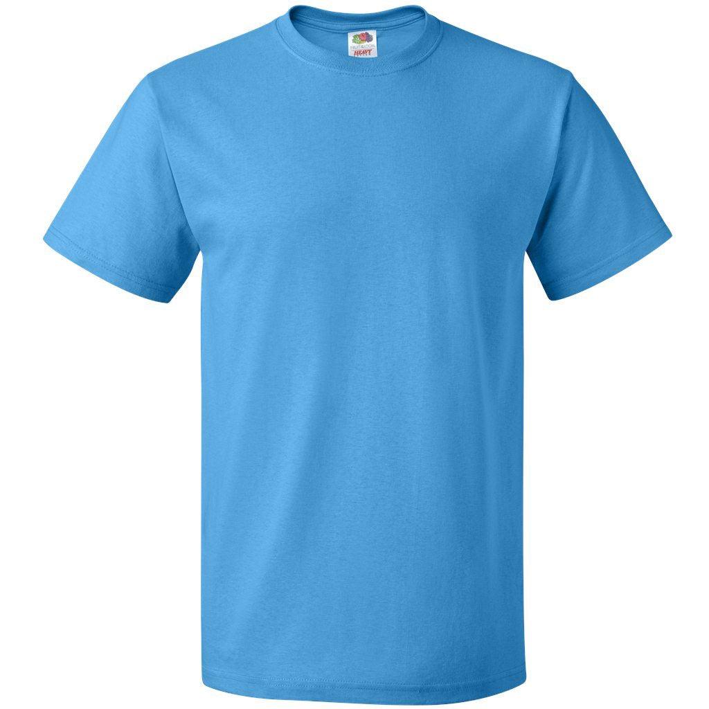fruit of the loom heavy cotton t shirt colors 100 cotton t shirts. Black Bedroom Furniture Sets. Home Design Ideas