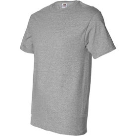 Branded Light Fruit of the Loom Heavy Cotton T-Shirt