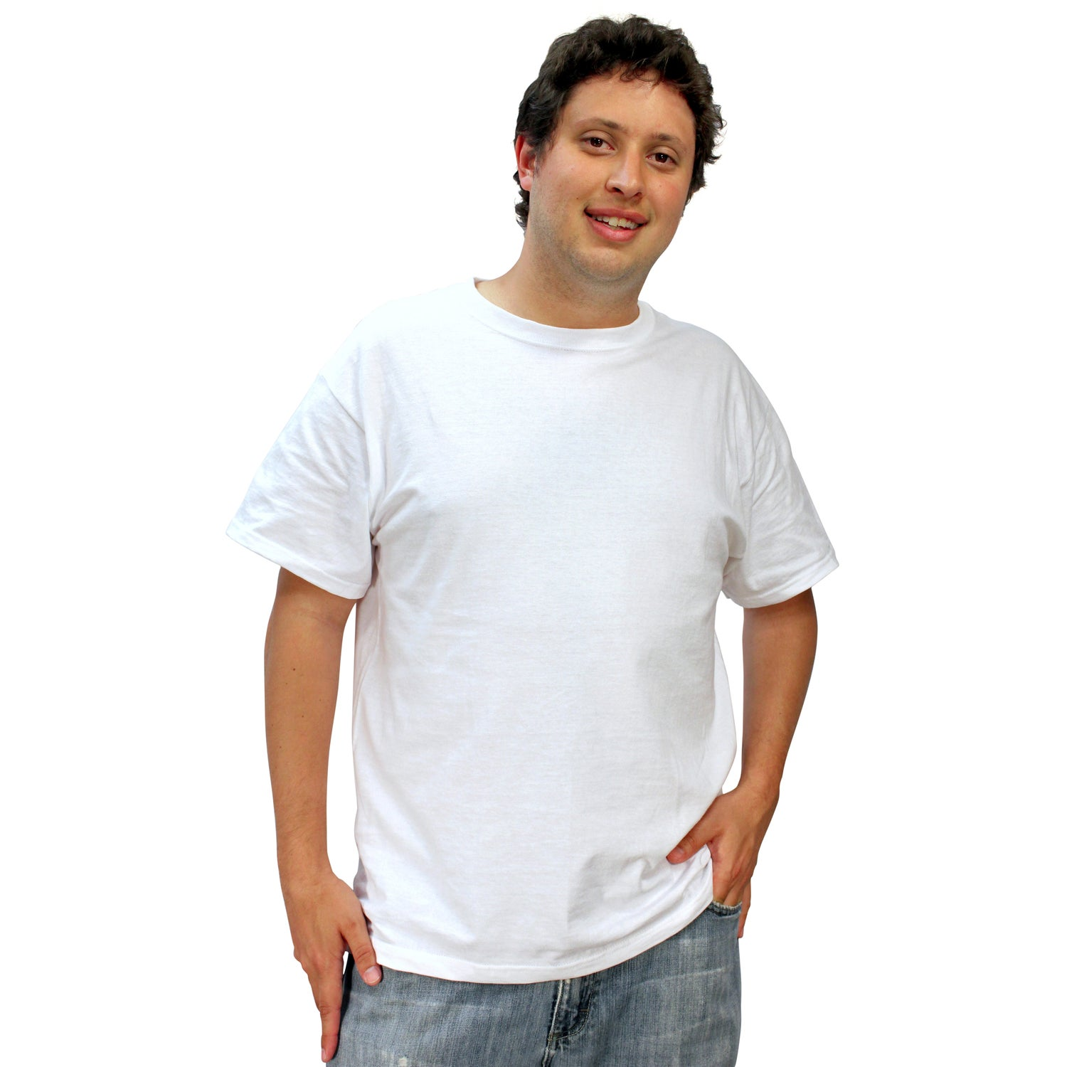Fruit of the loom heavy cotton t shirt white 100 for Custom cotton t shirts